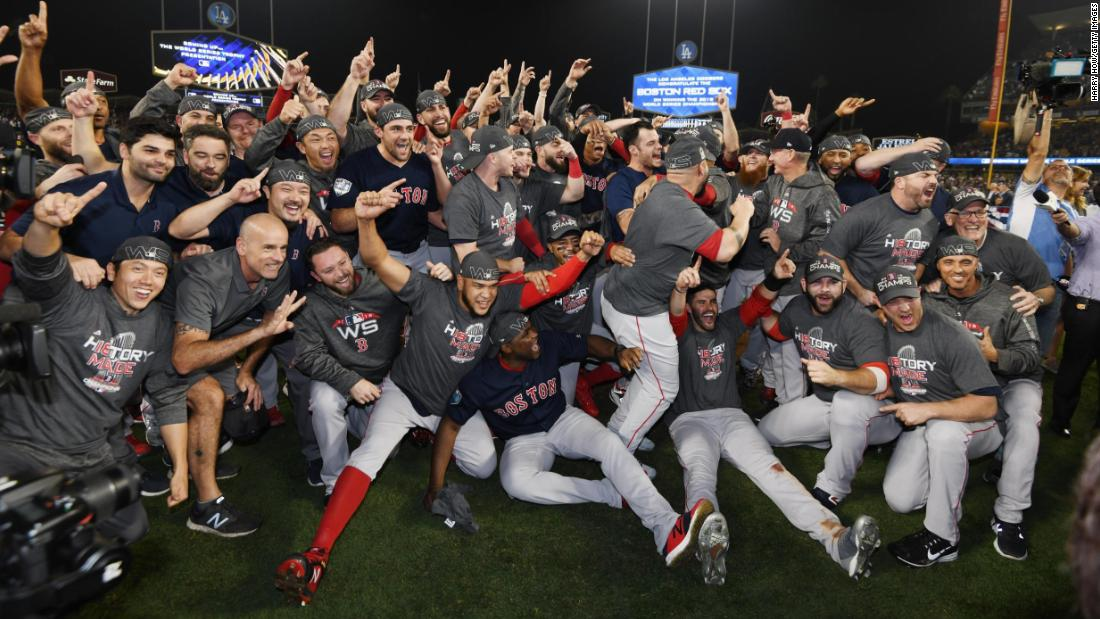 Red Sox win 4th World Series in 15 years   CNN 1100x619