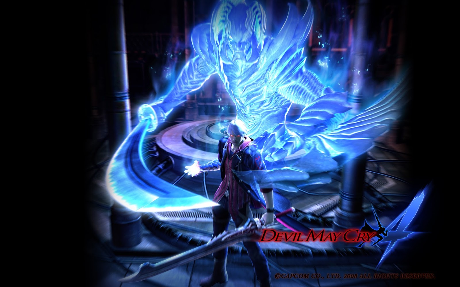 Manga And Anime Wallpapers Devil May Cry 4 HD Wallpaper 1600x1000
