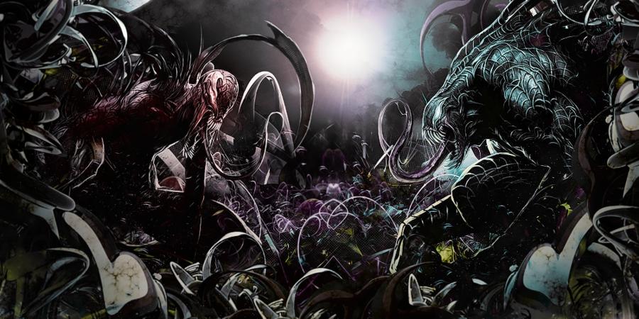 Carnage vs Venom by Awakening Scarlet 900x450
