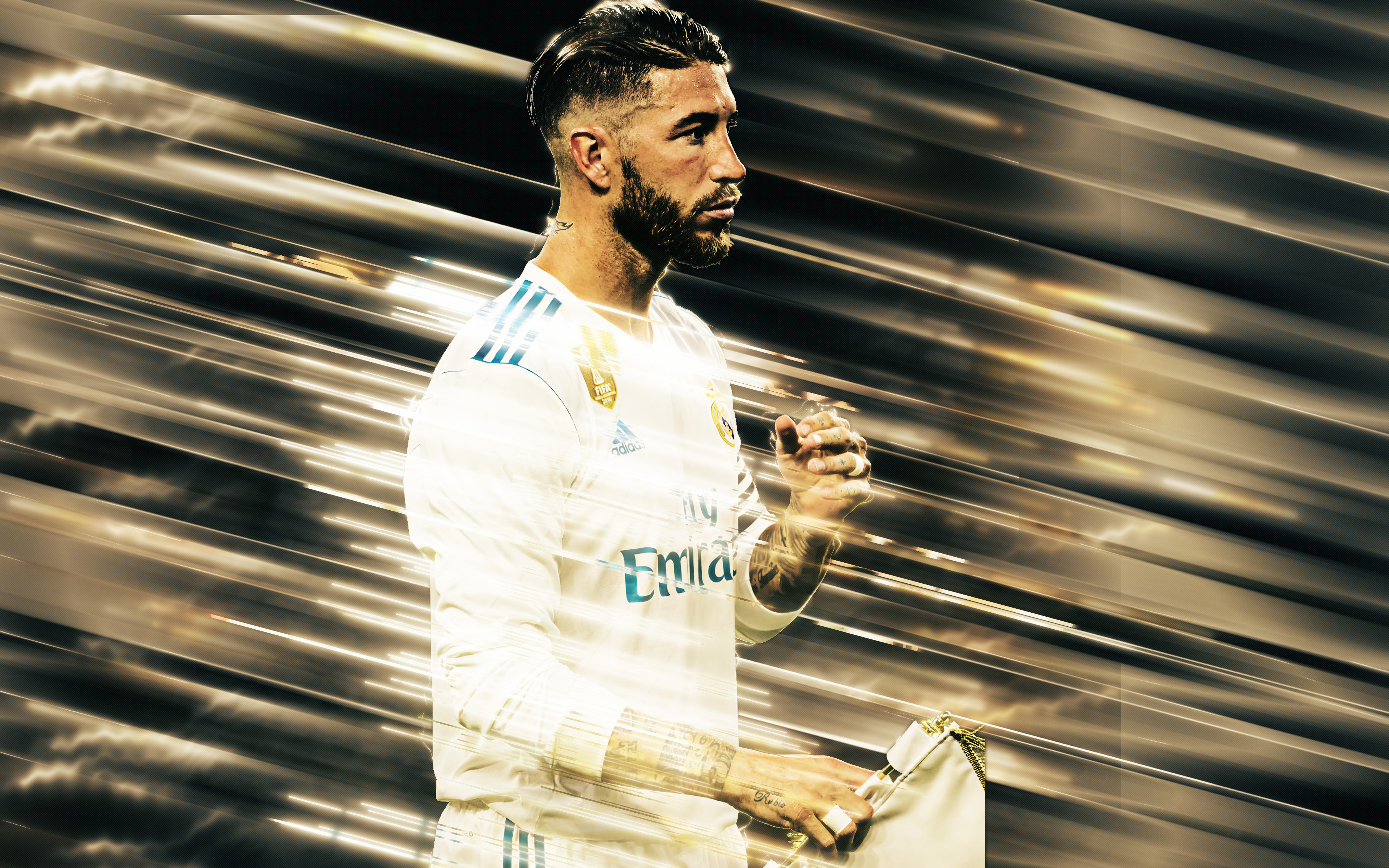 Sergio Ramos Wallpapers   Top Sergio Ramos Backgrounds 3840x2400