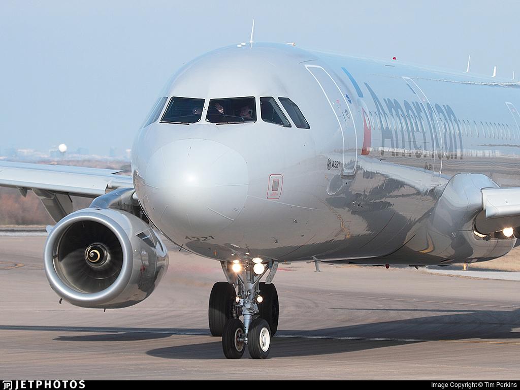N166nn   Airbus A321 231   American Airlines   Airbus A320 Family 1024x768