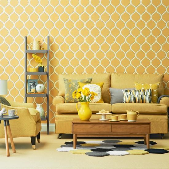 Yellow and Gray Wallpaper Designs - WallpaperSafari