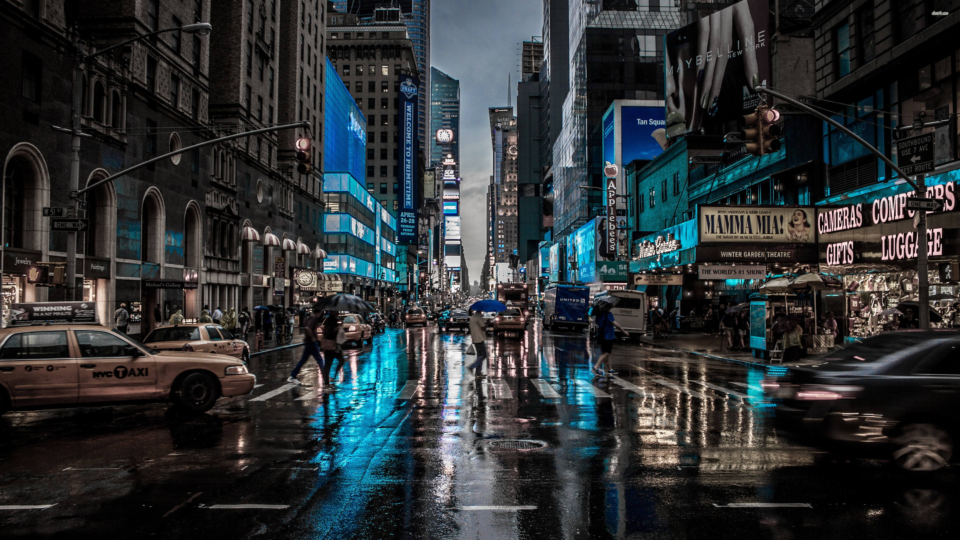 Free Download New York City Cityscape City Rain Wallpaper 3840x2160 For Your Desktop Mobile Tablet Explore 26 City Rain Wallpapers City Rain Wallpapers Rain Wallpapers Rain Wallpaper