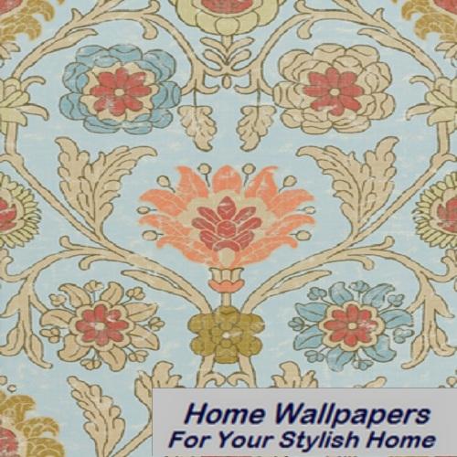 Thibaut Wallpaper   Anniversary   Buccini T6052 Aqua 500x500