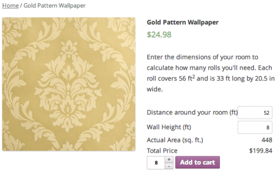 WooCommerce Measurement Price Calculator Wallpaper Example 550x340