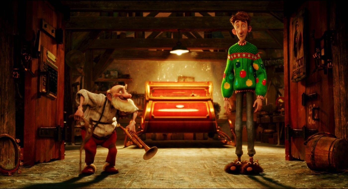 Top Seven Holiday Movies Arthur christmas Christmas wallpaper 1400x761