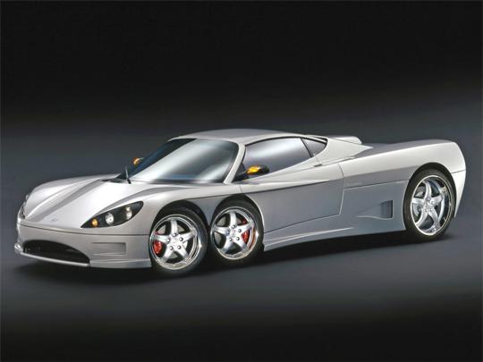 Six Wheeled Cars By Covini Engineering - Covini C6W Supercar | Be ...