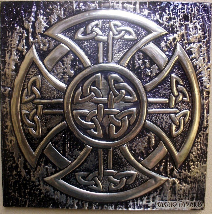 Celtic Cross by CacaioTavares 890x897