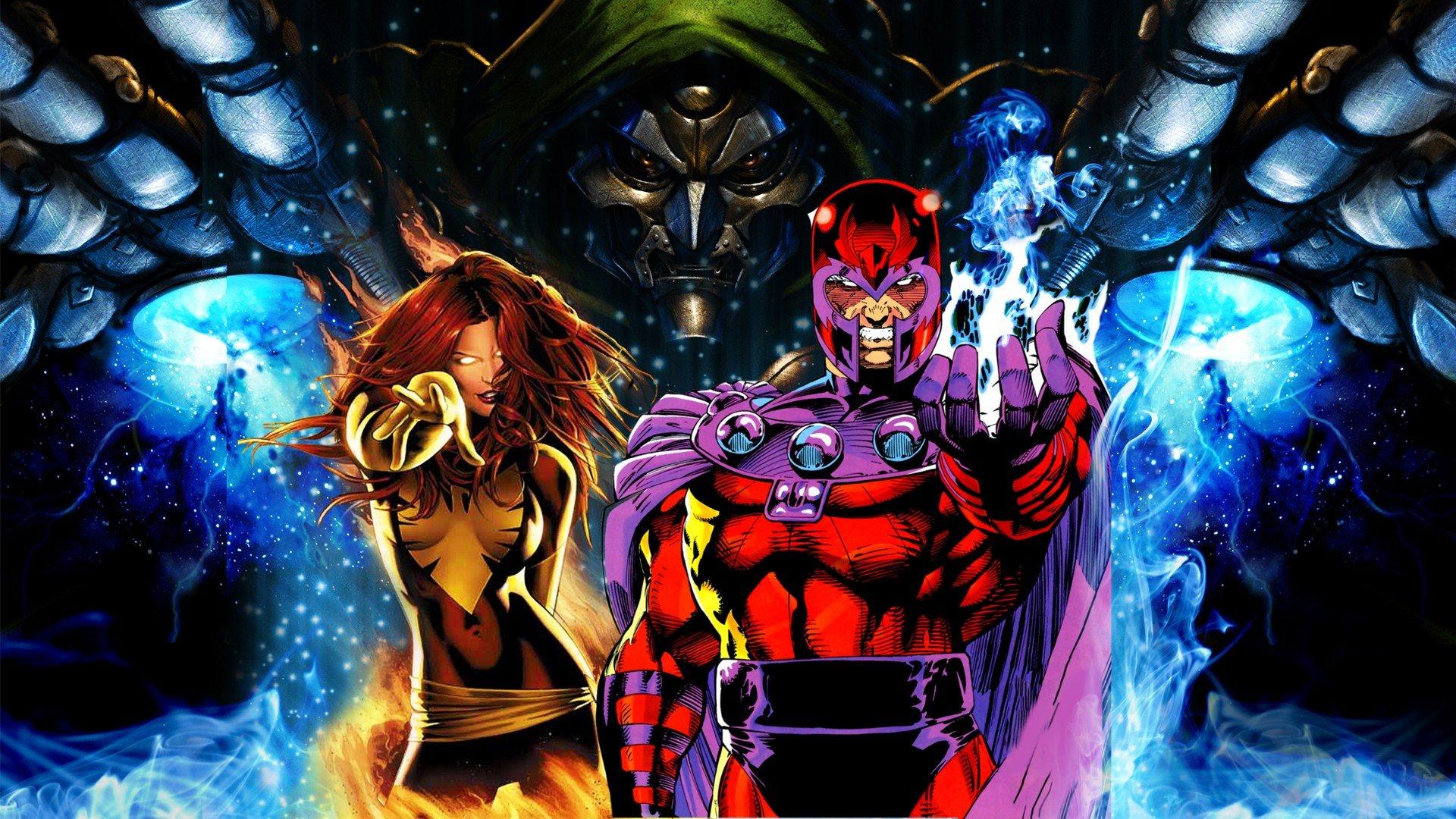 Marvel Magneto Wallpaper - WallpaperSafari X Men First Class Magneto And Mystique