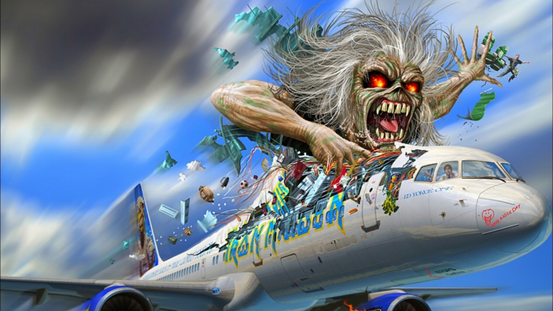 Group Of Iron Maiden Wallpapers Hd