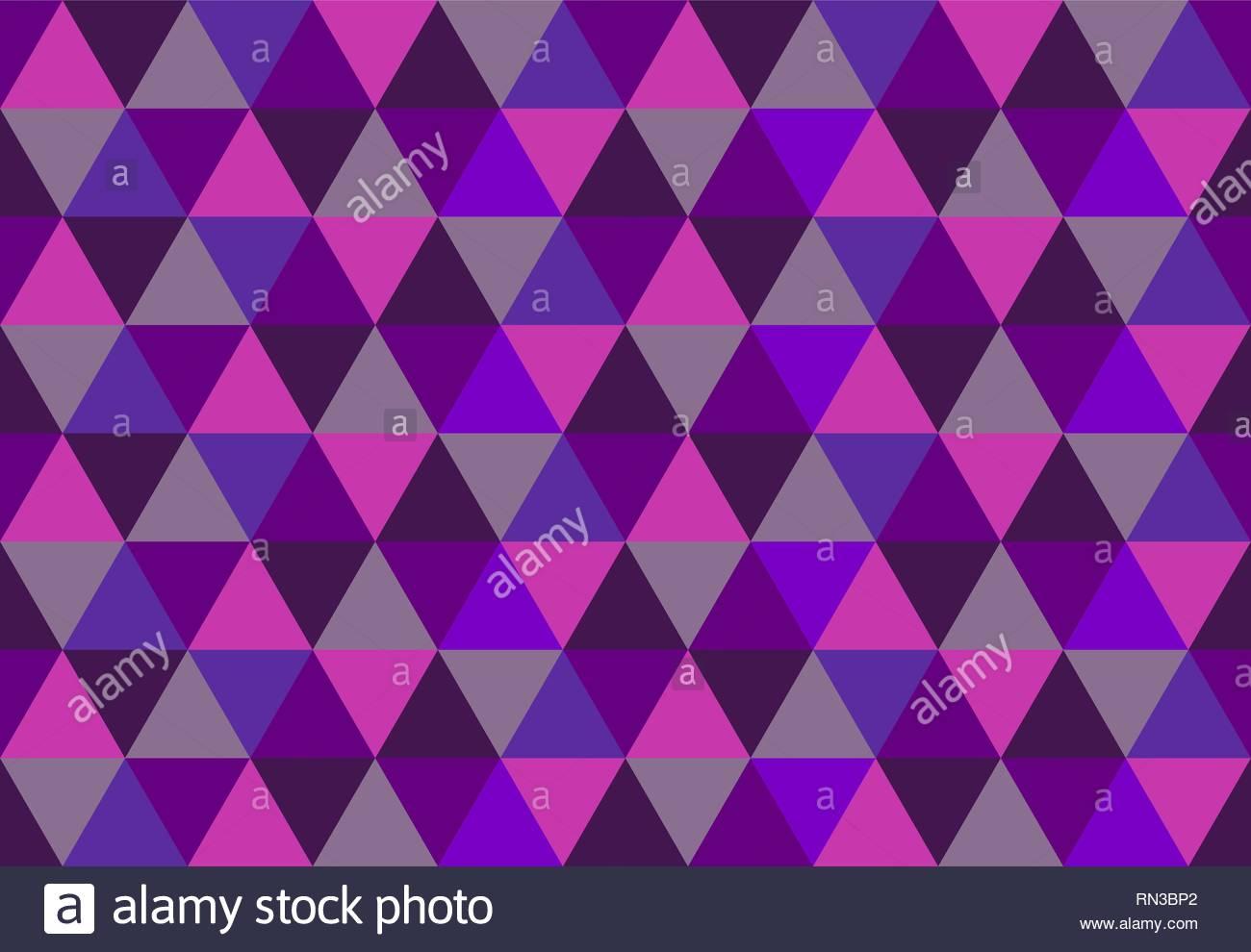 Triangular seamless patternLow poly geometric background Pink 1300x990