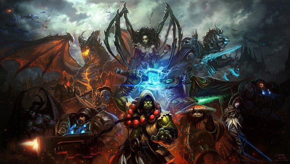 of warcraft mists of pandaria starcraft characters orc wallpaper 969x548