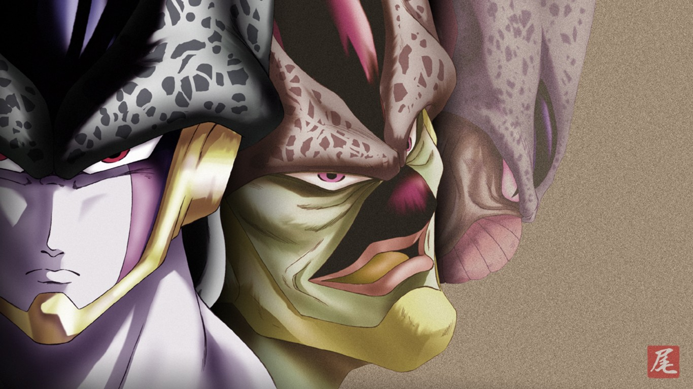 Cell Dbz Wallpaper Cell dragon wallpaper 1366x768