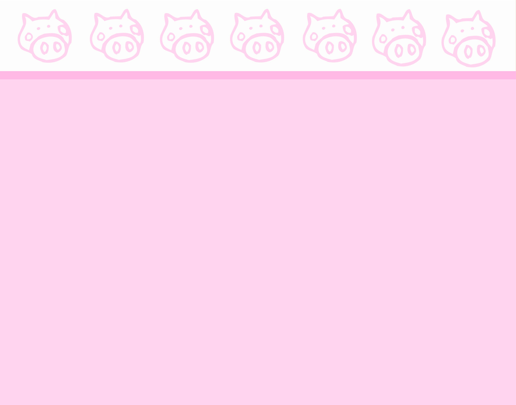 Pig Borders Backgrounds 1752x1378