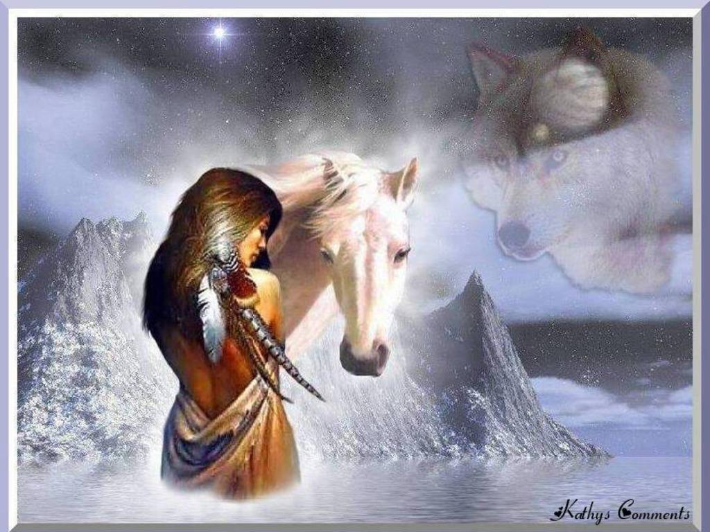 Native American Indians Hd Desktop Wallpaper High Definition 1024x768