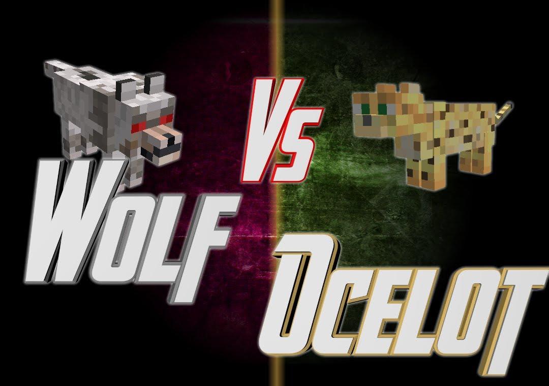 Free Download Minecraft Wolf Vs Ocelot Epic Rap Battles Of
