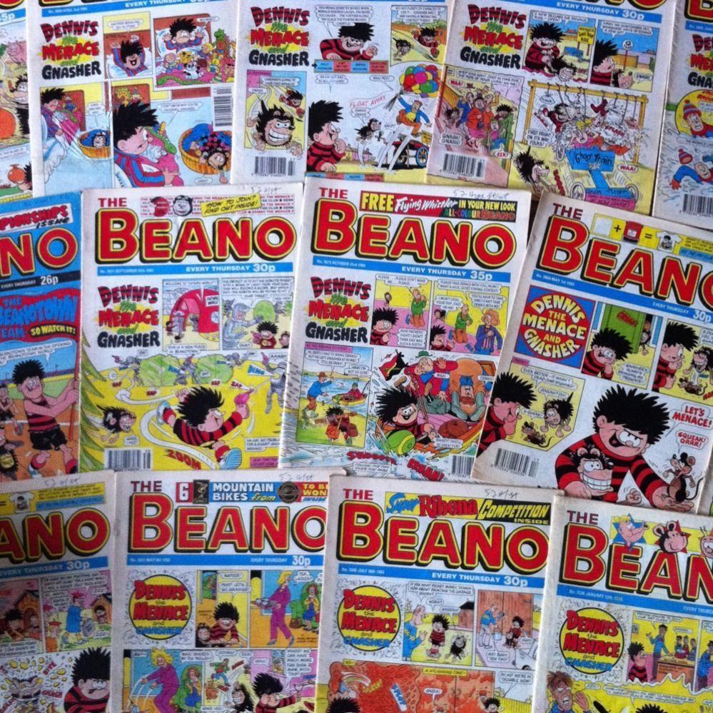 Beano Comic collection joblot 80 decopatch paper furniture 999x999