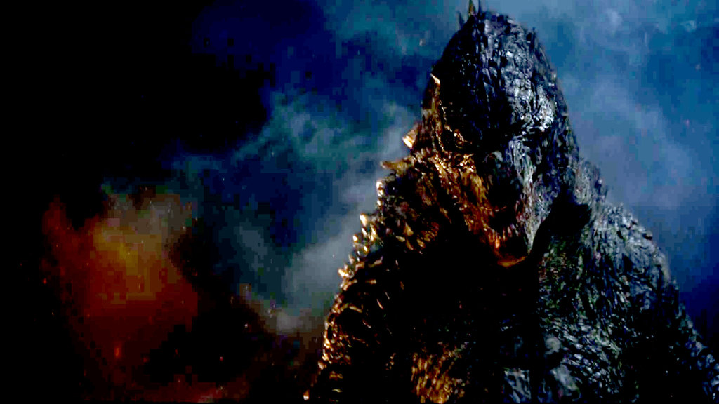 Godzilla 2014 Wallpaper Roar 1024x576