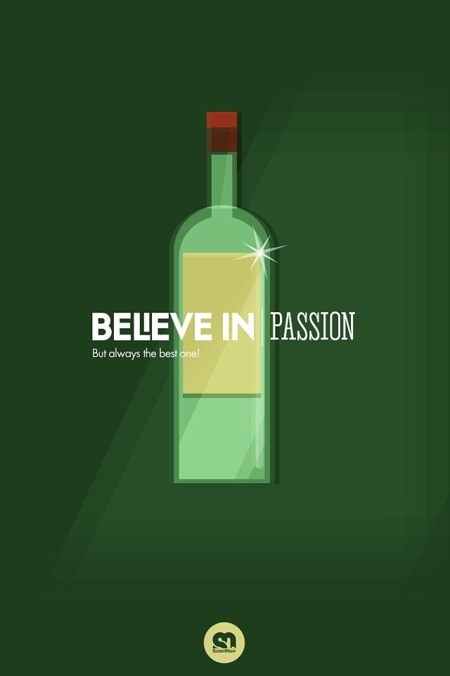 download creative beer ad wallpapers for ipod touch 640x960