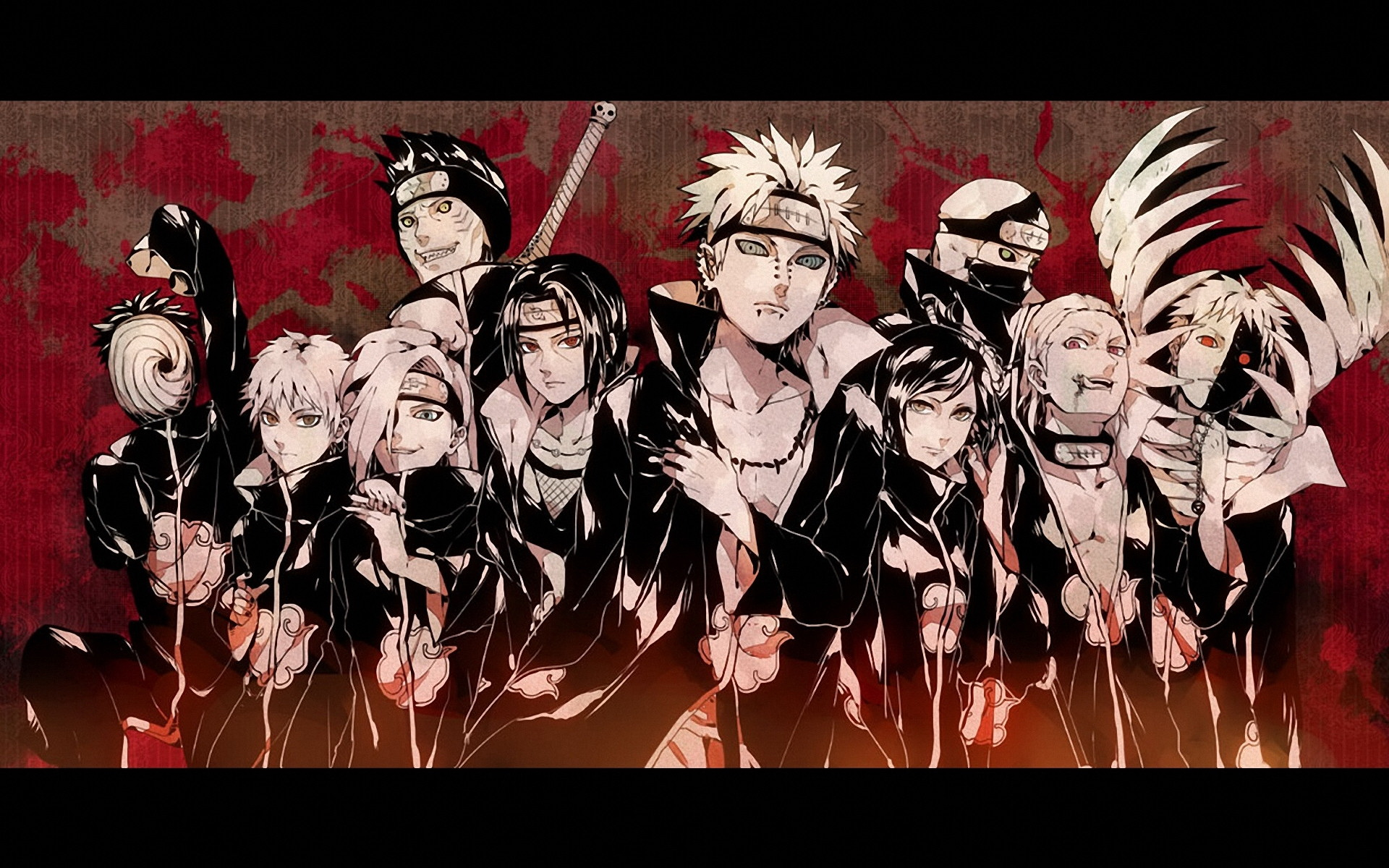 77 Akatsuki Wallpaper Hd On Wallpapersafari