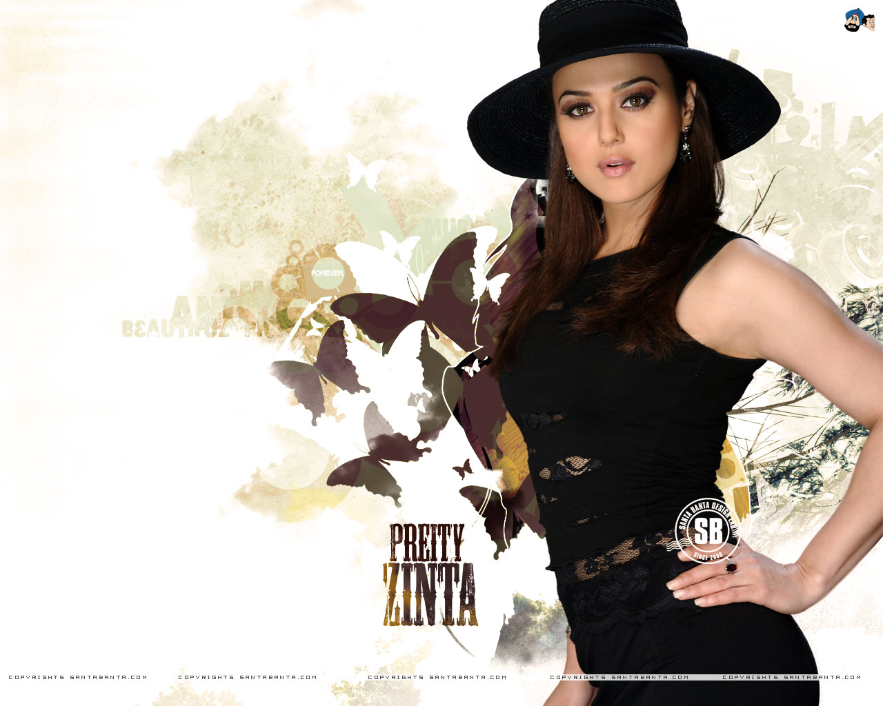 Image Preity Zinta Indian Celebrities 1280x1024