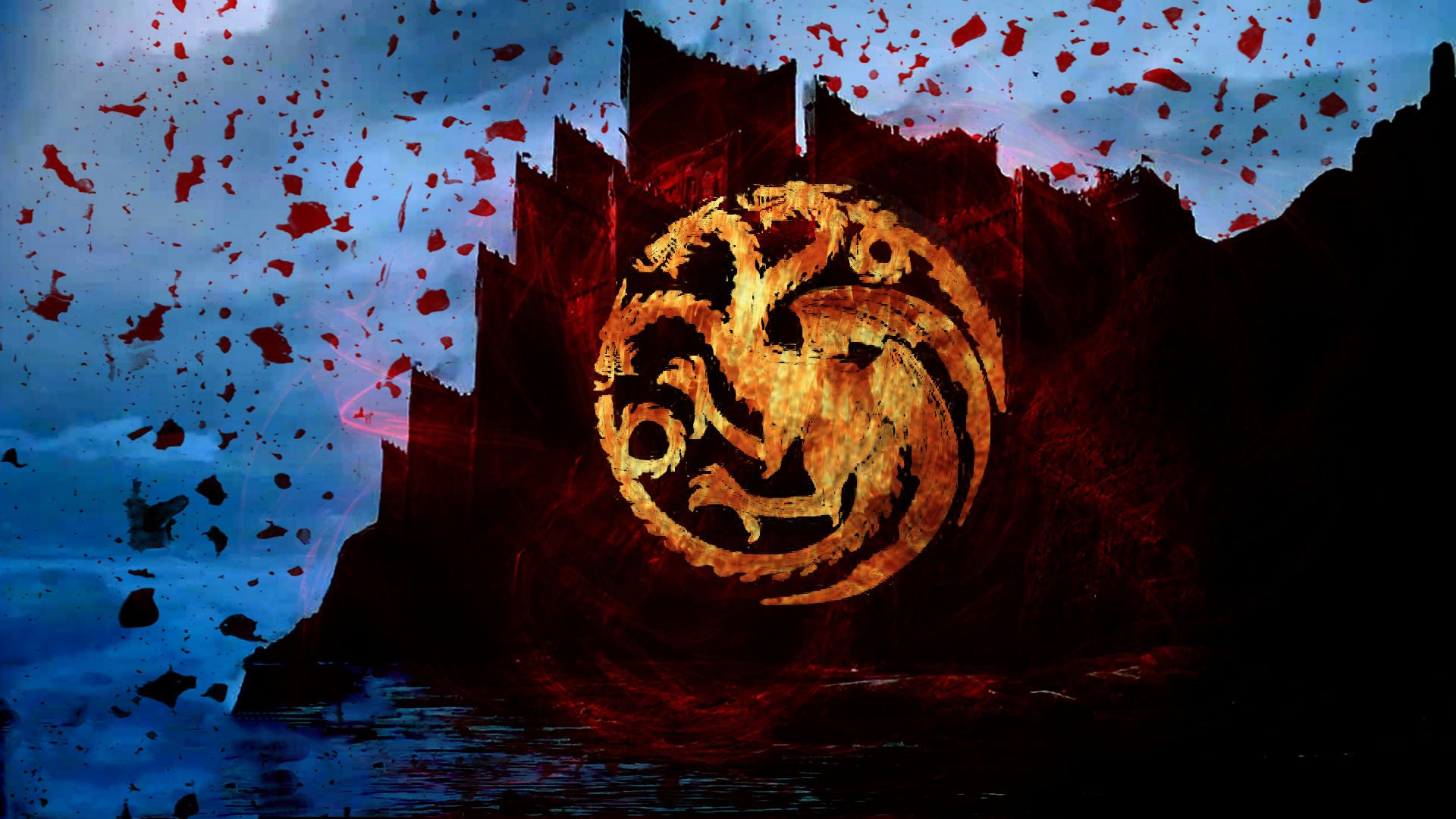 Game of thrones house wallpapers wallpapersafari for House of wallpaper