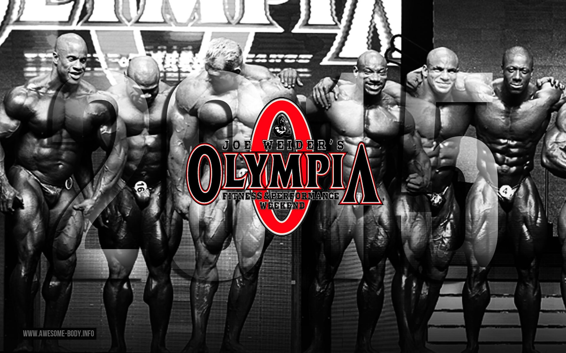 Mr Olympia 2015 Poster 1920x1200