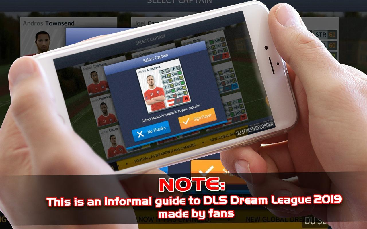 Win Dream League Soccer 2020 New Tips for Android   APK Download 1280x800
