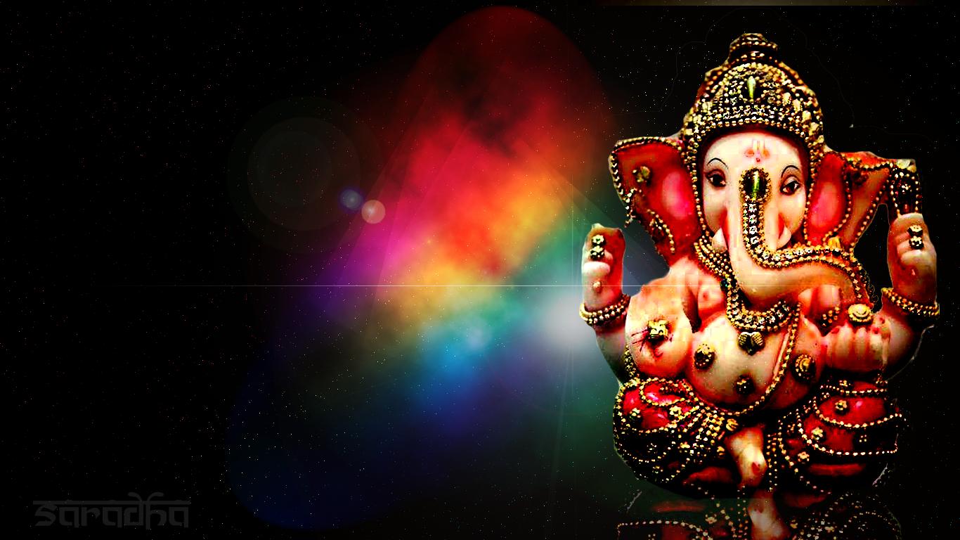 77 ganesh background on wallpapersafari - Sri ganesh wallpaper hd ...
