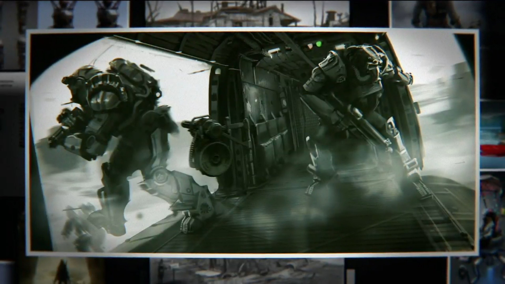 Fallout 4 Concept Art Screenshots from Bethesda Conference E3 2015 1920x1080