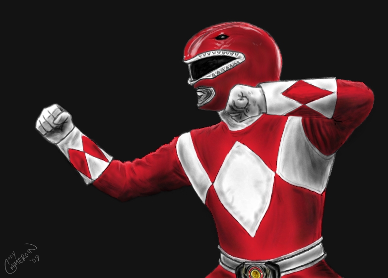 red ranger wallpaper - photo #4