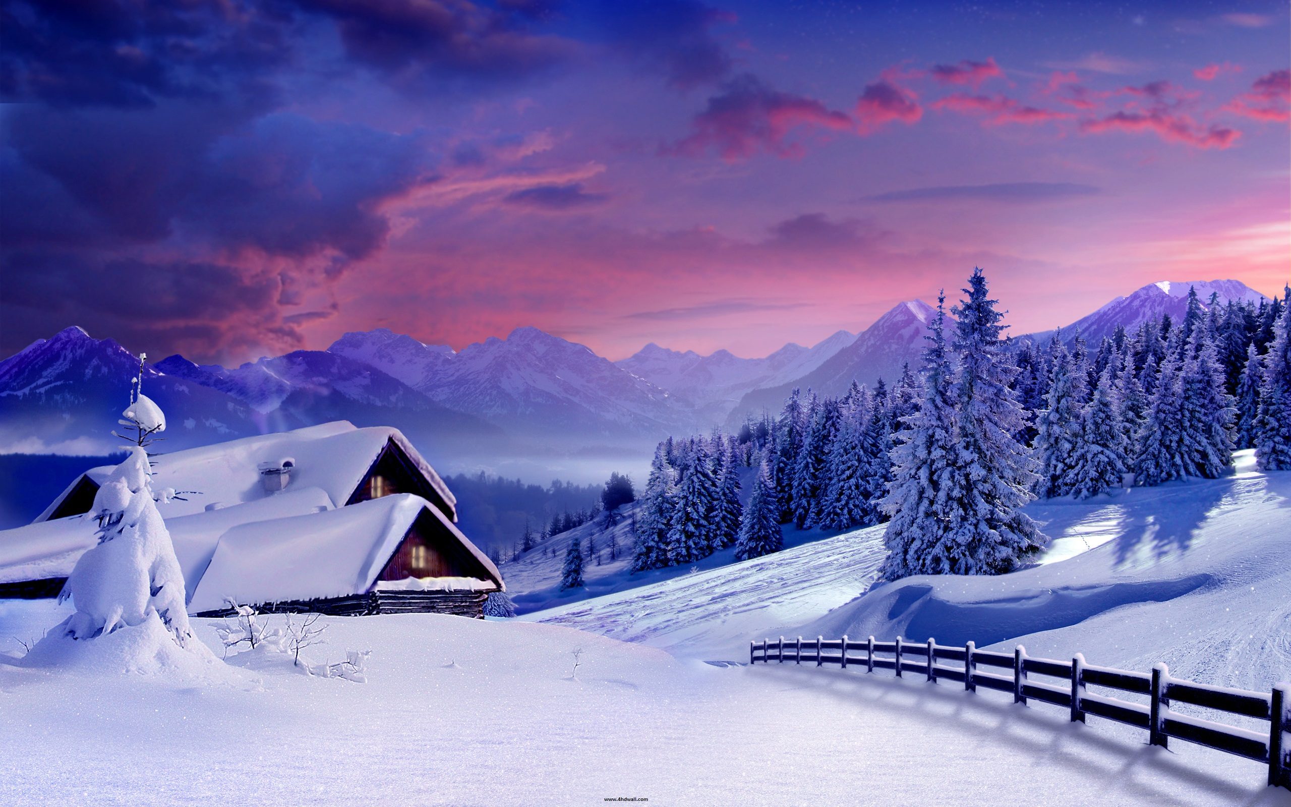 Beautiful Winter Wallpapers Related Keywords amp Suggestions 2560x1600