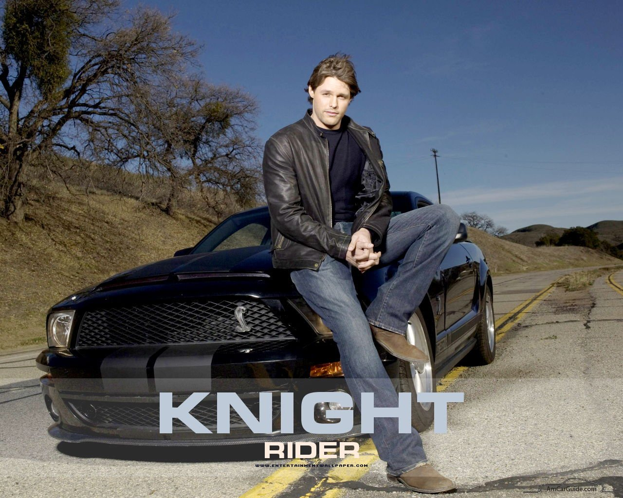 Knight Rider Kitt Wallpaper Kitt Ford Mustang Knight Rider 1280x1024