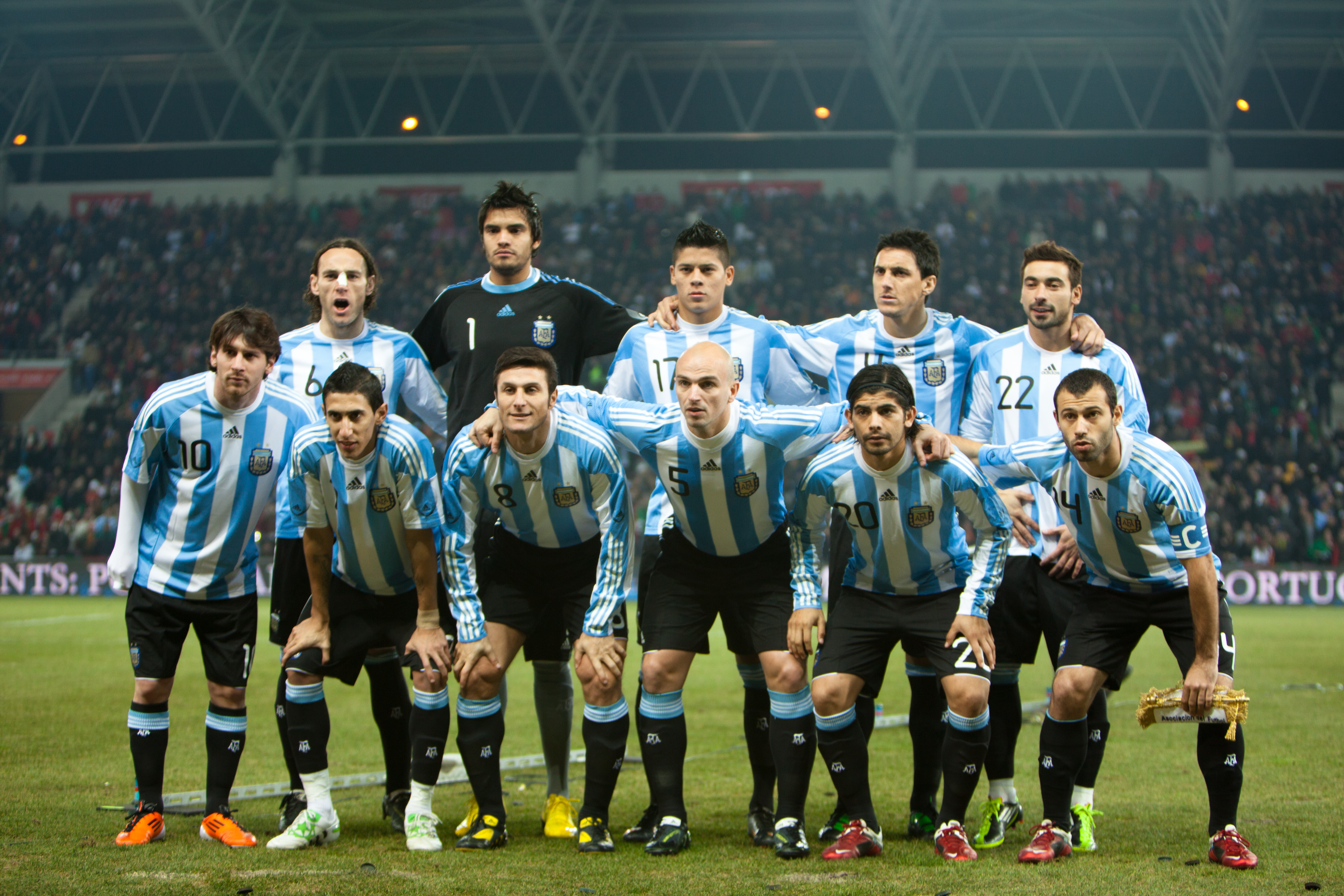 Argentina National Football Team HD Wallpaper Football Wallpapers 5089x3392
