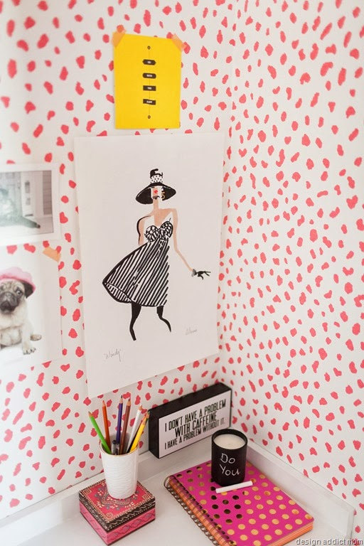 Self adhesive vinyl temporary removable wallpaper wall decal 512x768