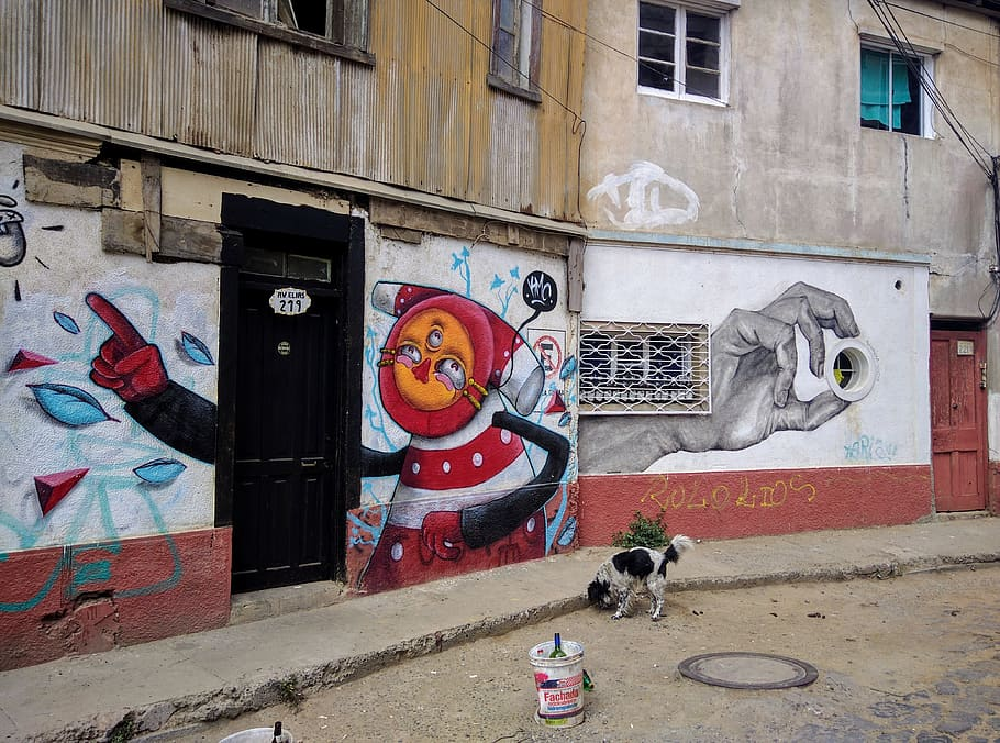 HD wallpaper chile valparaso street art graffiti valparaiso 910x676
