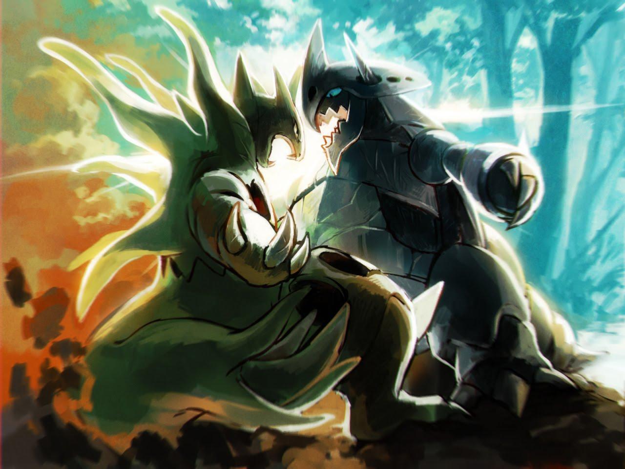 Pokmon Deluge RPG 11 Batalha de Inscritos Mega Aggron vs 1280x960