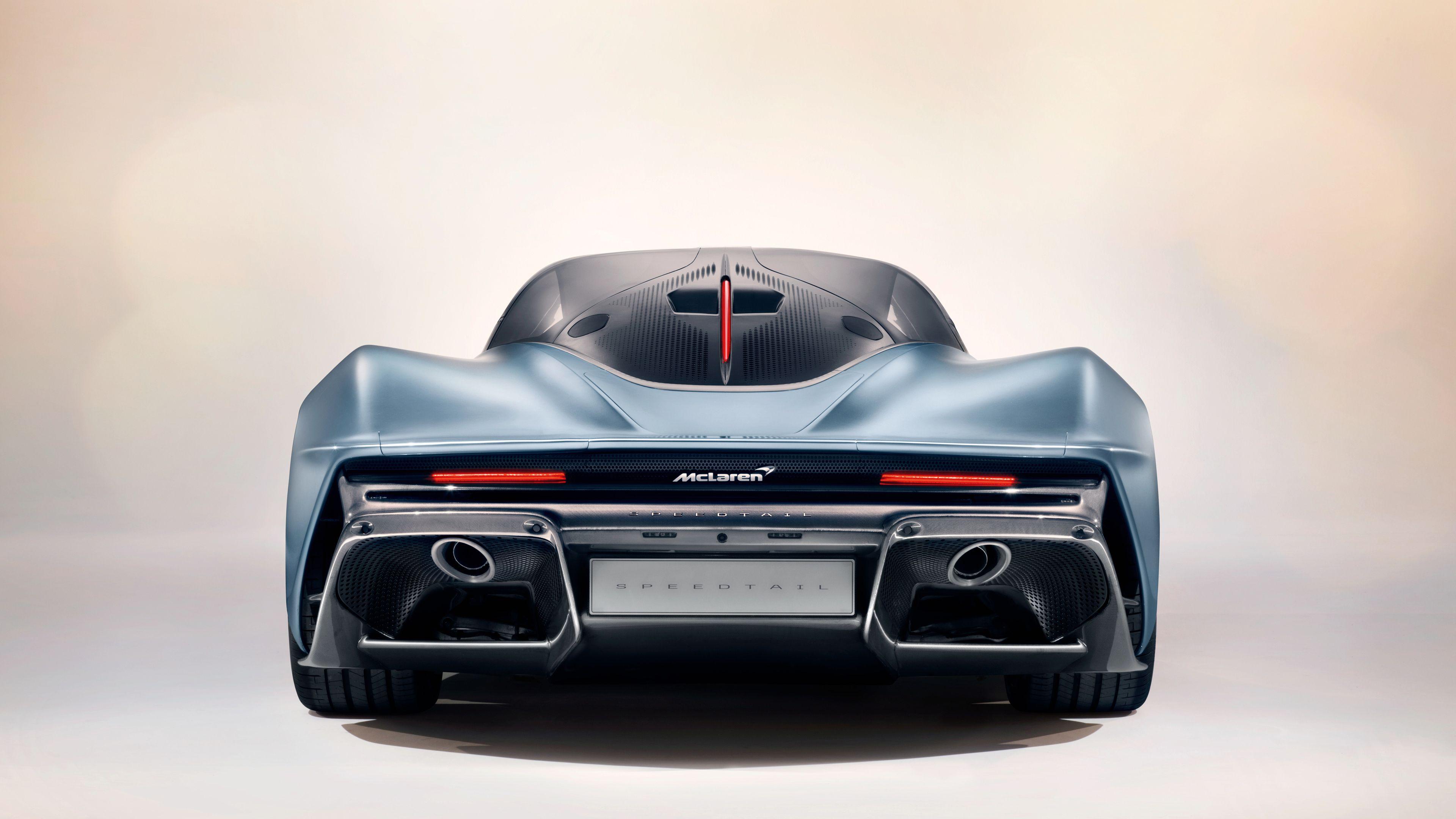 McLaren Speedtail Rear 4k wallpaper mclaren speedtail wallpapers 3840x2160
