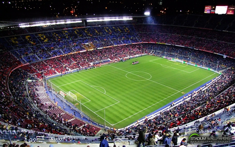 soccerstadium soccer stadium camp nou 1920x1200 wallpaper 800x500
