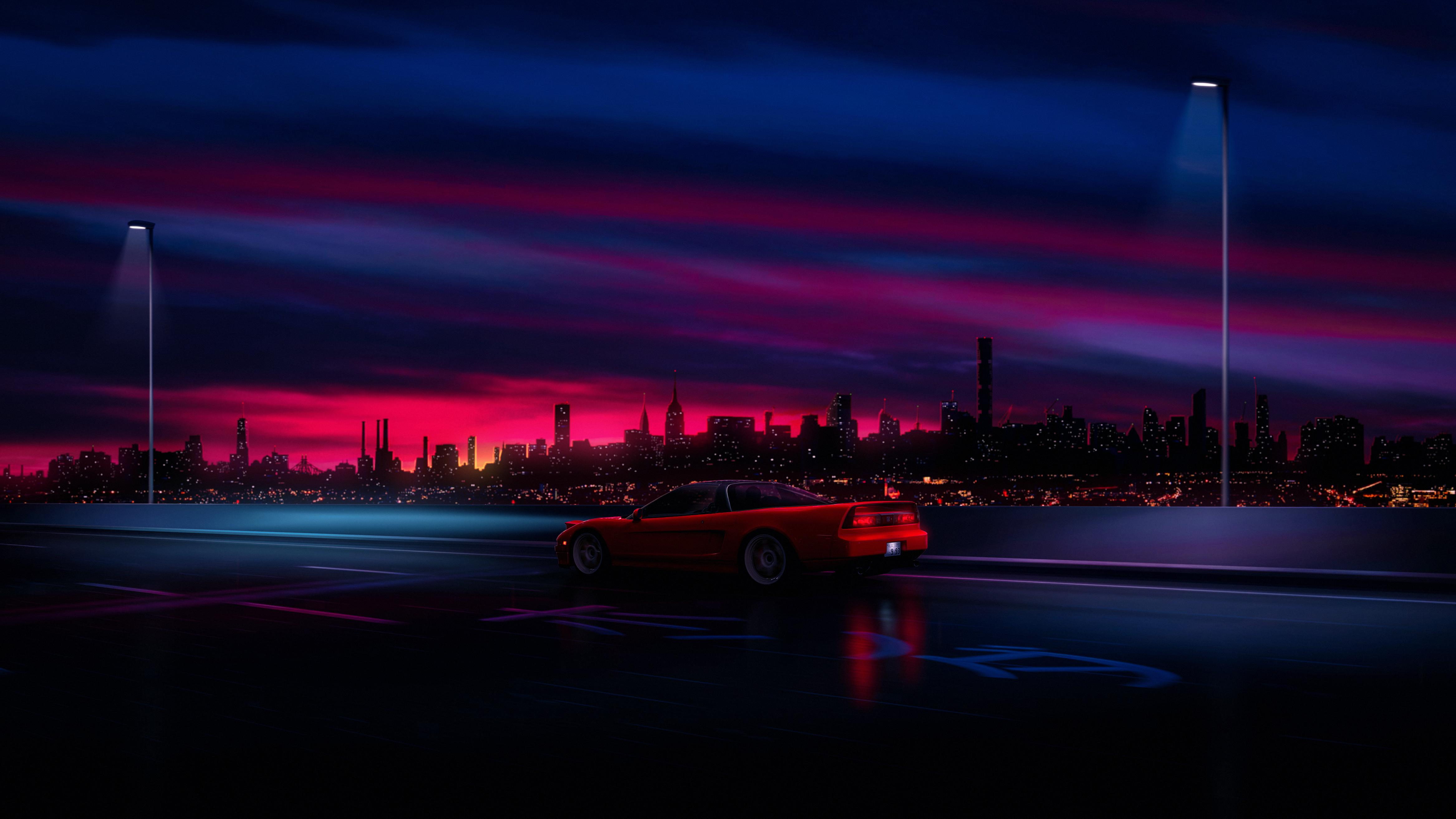 retrowave 4K wallpapers for your desktop or mobile screen and 4670x2627