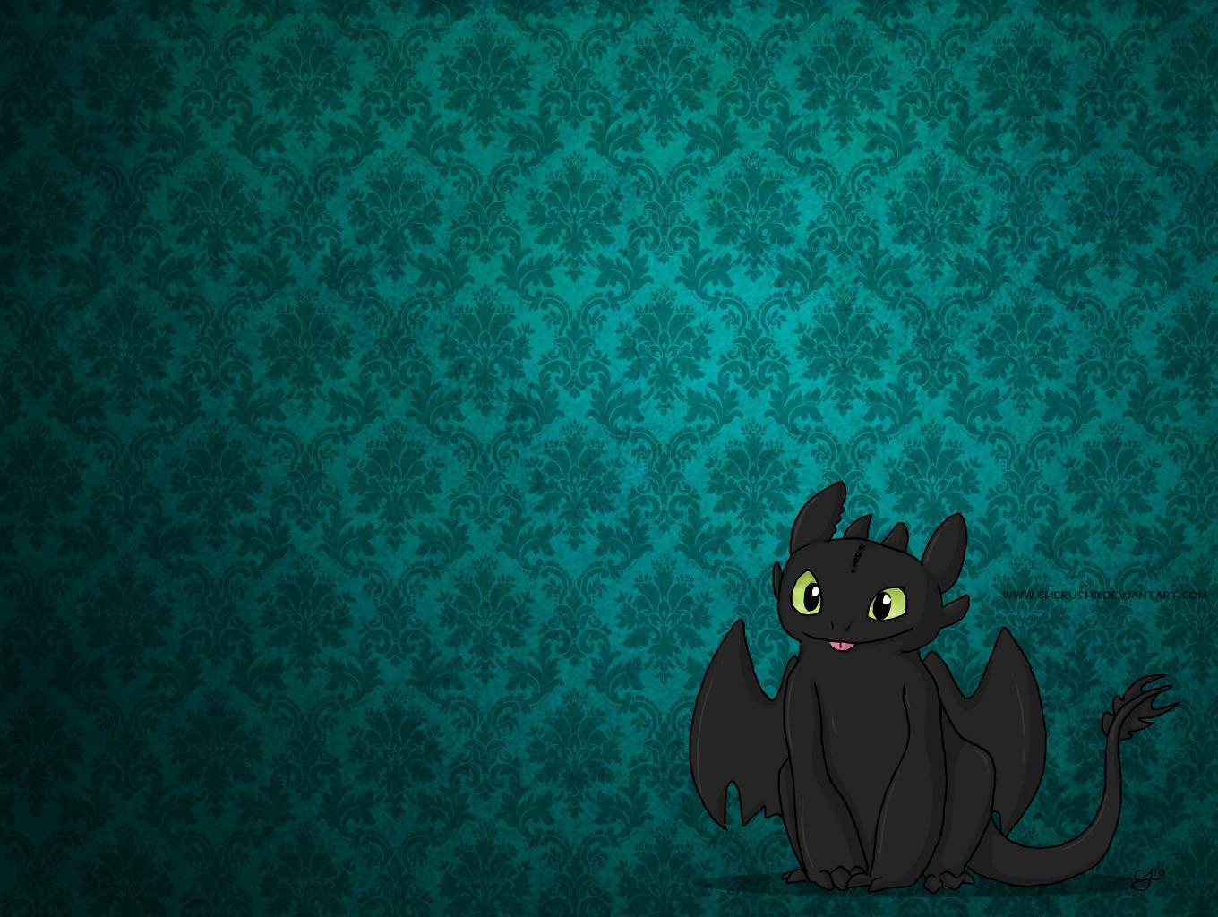 Toothless Wallpapers 1360x1024