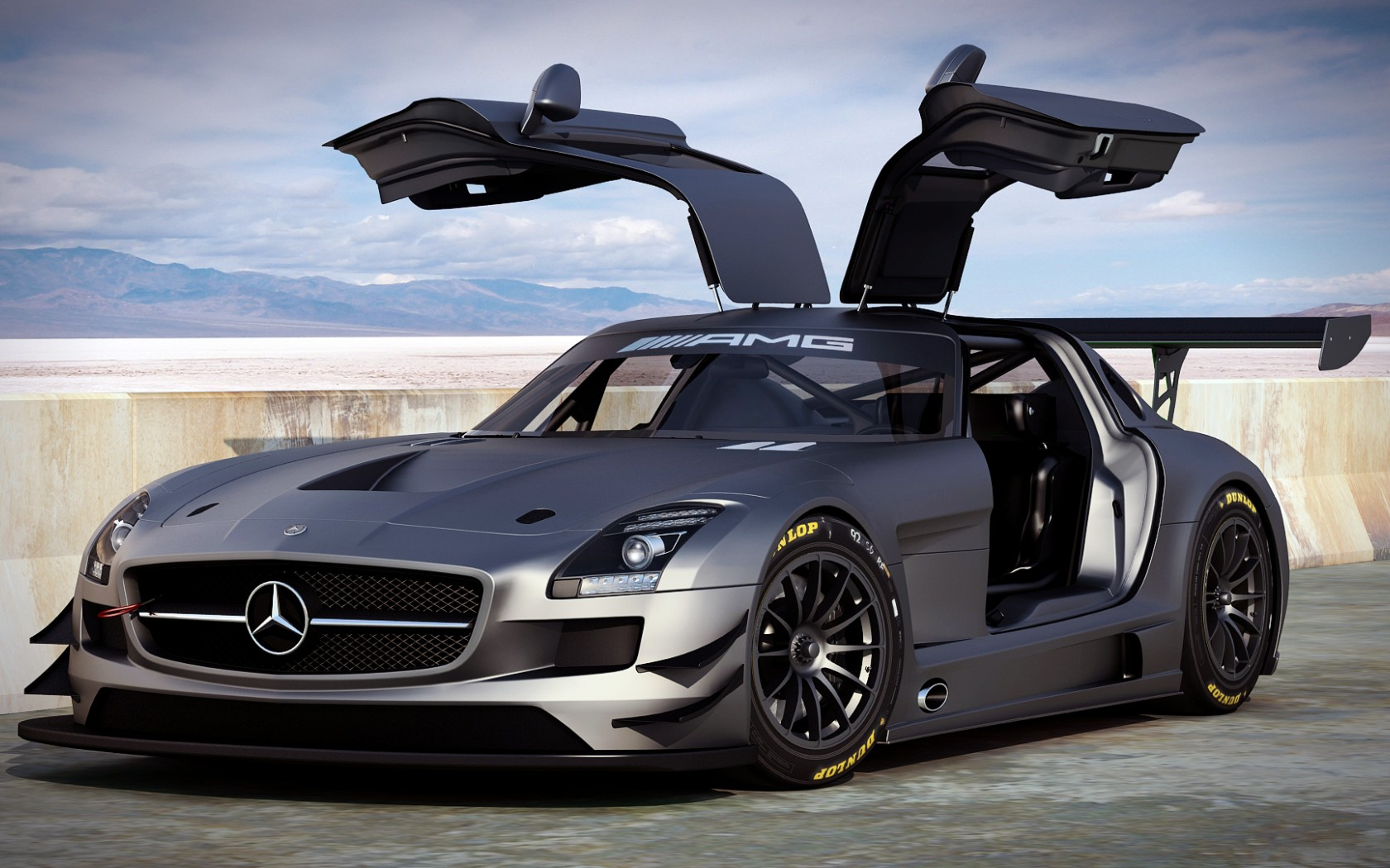 Mercedes Benz SLS AMG Wallpapers Pictures Images 1680x1050