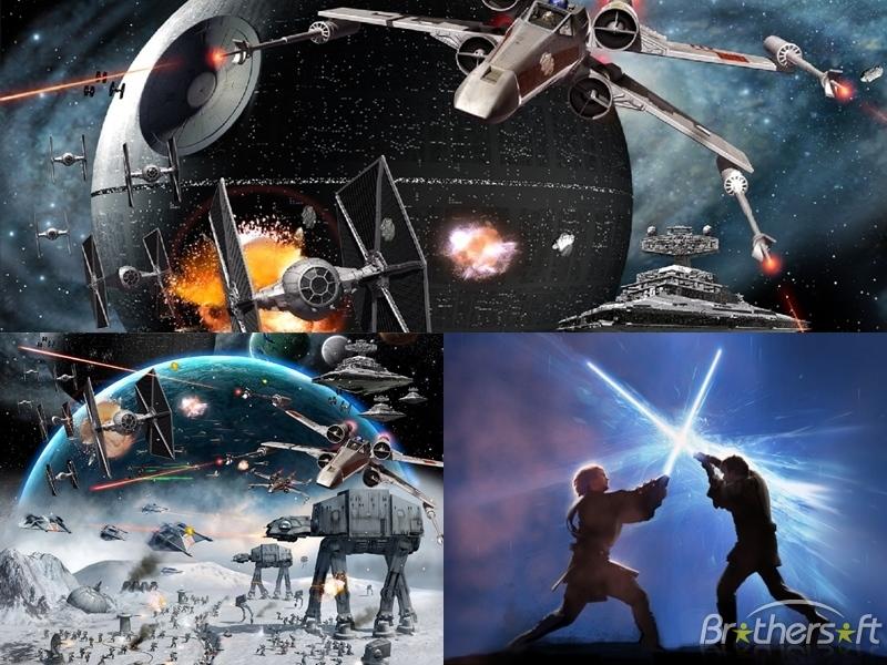 49 Free Star Wars Screensavers And Wallpaper On Wallpapersafari