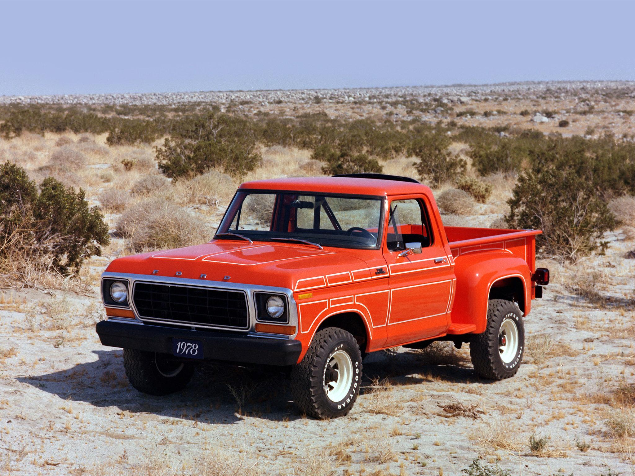 1978 Ford F 100 classic truck 4x4 wallpaper background 2048x1536