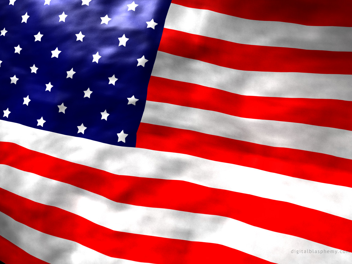 LATEST WALLPAPERS 3D WALLPAPERS AMAZING WALLPAPERS American flag 1152x864