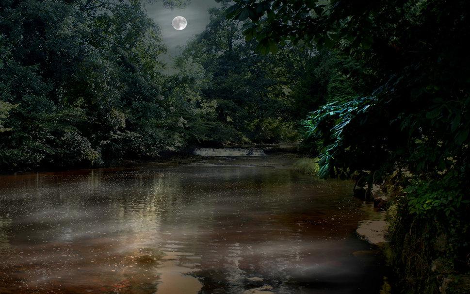 Moon river Wallpaper   ForWallpapercom 969x606