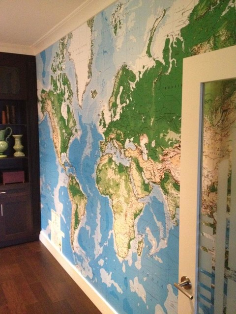 Wallpaper Installations Vancouver 2013   Contemporary   Home Office 480x640