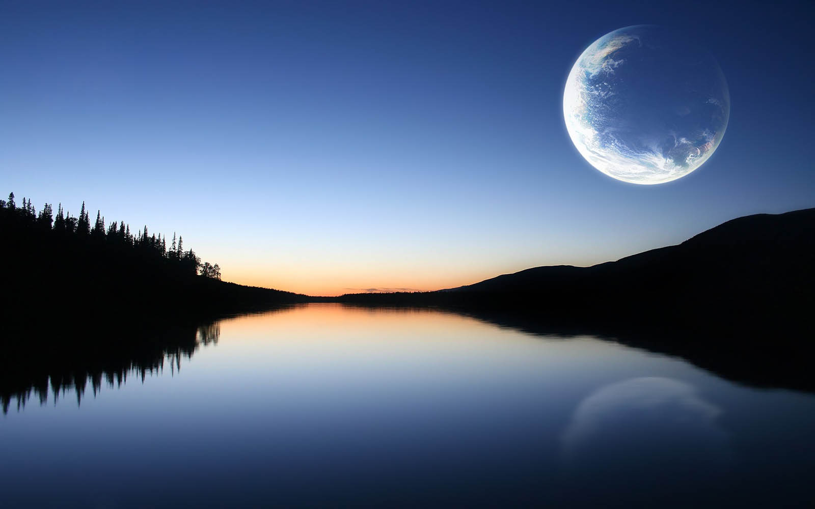 Moon Desktop Wallpapers Others Photo Wallpaper 1600x1000