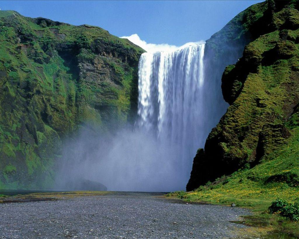 Desktop Waterfall Wallpaper Download Nature Beauty new 1024x819