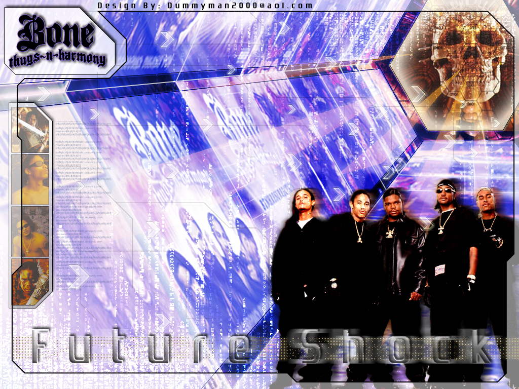 Bone Thugs Future Shock by grafhikul 1024x768